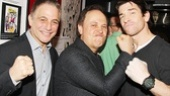Tony Danza and Billy Crystal deliver a one-two punch to Rocky star Andy Karl!