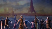 The cast of An American in Paris
