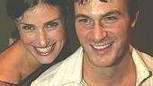 The Stars in the Spotlight: Idina Menzel and Matt Bogart.