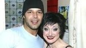 Ricky Martin and Caroline O'Connor (who plays Velma Kelly).