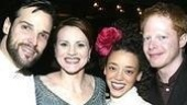 Hugh Panaro, Jennifer Laura Thompson, Marcy Harriell and Jesse Tyler Ferguson star in Little Fish.