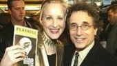 Katie Finneran and Chip Zien (who starred in Maury Yeston's Grand Hotel) arrive at the theater.