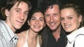 Current Urinetown stars: Luther Creek, Spencer Kayden, Charles Shaughnessy & Amy Spanger.