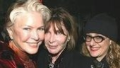 Burstyn with friends Lee Grant and Carol Kane.