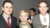 David Warren, Martha Plimpton and Boyd Gaines.