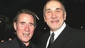 Jim Dale and Frank Langella.