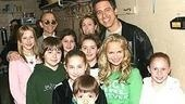 Ray Romano at Wicked - Joel Grey - Ray Romano - Kristin Chenoweth - kids