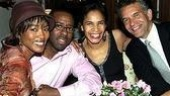 Two couples, three August Wilson alums! Angela Bassett, Courtney B. Vance, Allyson Tucker and Brian Stokes Mitchell.