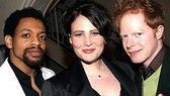 Co-stars Derrick Baskin, Lisa Howardand Jesse Tyler Ferguson.