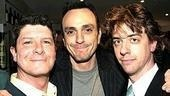 Spamalot nominees Michael McGrath, Hank Azaria and Christian Borle.