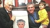 Dirty Rotten Scoundrels Sardi's Caricatures - Dick Latessa - Gregory Jbara - son Zachary