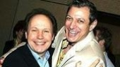 Drama League honorees Billy Crystal (700 Sundays) and Jeff Goldblum (The Pillowman).