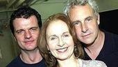 Constant trio: Michael Cumpsty, Kate Burtonand John Dossett.