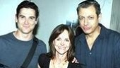 A Hollywood trio!Billy Crudup, Sally Field and Jeff Goldblum get close for the camera.
