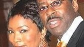 Powerhouse acting couple Angela Bassett and Courtney B. Vance.