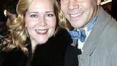 Original Phantom cast member Rebecca Luker with hubby Danny Burstein.