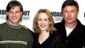Intriguing Trio!Carmack is joined by his Entertaining co-stars Jan Maxwell and Alec Baldwin.