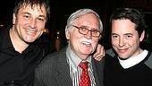 Jim Borstelmann, Thomas Meehan and Matthew Broderick.