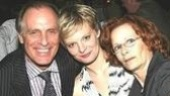 Martha Plimpton with her parents, Keith Carradine and Shelley Plimpton, who actually courted while performing in Hair at the same theater where Shining City plays, the Biltmore!