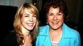 Lovely leading ladies Mary Faber, of Avenue Q fame, and Judy Kaye, who's taking the reigns of Mrs. Lovett in Sweeney Todd.