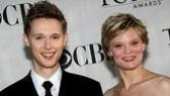 History Boys' standout (and Tony nominee!) Samuel Barnett with Shining City star Martha Plimpton.