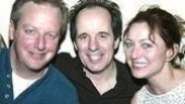 Daniel Stern, John Pankow & Julie White at theiropening night of Barbra's Wedding