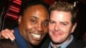 Musical theater faves Billy Porter and Clarke Thorell.