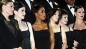 At Chicago's curtain call: Ann Reinking, Bebe Neuwirth, Brenda Braxton, Ruthie Henshall, Caroline O'Connor and Terra C. MacLeod.