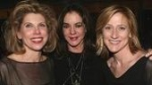 Three Sisters (for one night only!): Christine Baranski, Stockard Channing and Edie Falco.