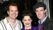 Mary Poppins flanked by her heros...Bennet and Bert! TV star Jack Coleman, Ashley Brown and Gavin Lee.
