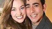 Photo Op - First Preview of Grease - Laura Osnes - Max Crumm (smile)