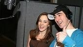 Photo Op - Grease Recording Session - Laura Osnes - Max Crumm
