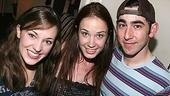 Photo Op - Sierra Boggess at Grease - Laura Osnes - Sierra Boggess - Max Crumm