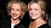Wicked reunion!Carole Kane and Kendra Kassebaum starred as Madame Morrible and Glinda on the tour, then moved to Broadway together. 