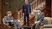 Raul Esparza, Michael McKean and Ian McShane in The Homecoming