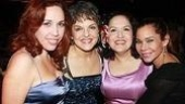 Broadway In the Heights Opening - Andrea Burns - Priscilla Lopez - Olga Merediz - Daphne Rubin-Vega