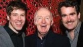 Onstage Dubliners John Gallagher Jr., Jim Norton and Brian D'Arcy James are three of Atlantic's lucky charms!
