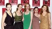 The ladies of Bette and Boo: Heather Burns, Julie Hagerty, Kate Jennings Grant, Zoe Lister-Jones and Victoria Clark line up for our camera.