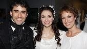 John Lloyd Young, Michele Maika and Melora Hardin show off their final costumes.