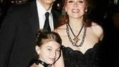 Carolee Carmello with her husband, actor Gregg Edelman and their children at the Lestat opening night party
