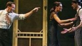 Patrick Wilson as Chris Keller, Katie Holmes as Ann Deever and Christian Camargo as George Deever in All My Sons