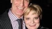 Proud papa Keith Carradine is on hand to show his support for daughter and show-stopper Martha Plimpton…