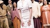 Laura Osnes in South Pacific – curtain