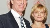 It's a family affair as father-daughter acting duo Keith Carradine and Martha Plimpton stroll in arm in arm.