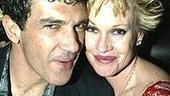 Nine Opening - Antonio Banderas - Melanie Griffith (table shot)