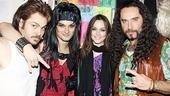When you look like Leighton, you get used to being a man-magnet. Rock of Ages dudes Mitchell Jarvis, Jeremy Woodard and Adam Dannheisser get close to Miss Meester.