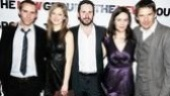 Top-notch cast members Alessandro Nivola, Marin Ireland, Josh Hamilton and Maggie Siff pose with their director, Ethan Hawke.