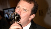 Give that Tony a kiss, Douglas Hodge! Your La Cage character Zaza surely would.