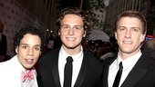 2010 Tony Awards Red Carpet  Robin De Jesus  Jonathan Groff  Patrick Heusinger 