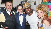 Taye Diggs at Rock of Ages – Paul Schoeffler – Derek St. Pierre – Taye Diggs – Lauren Molina